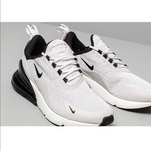 Nike Air Max 270 White and Black